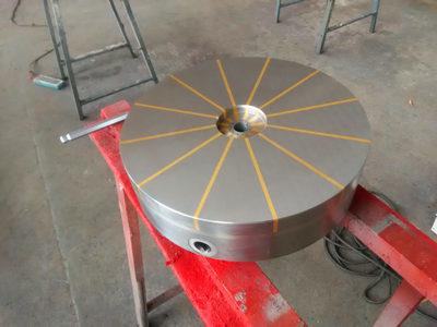 辐射极圆形永久吸盘