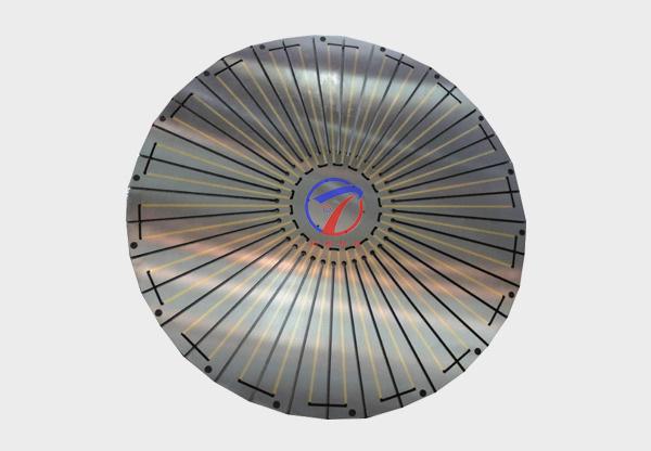 放射圆形电磁吸盘